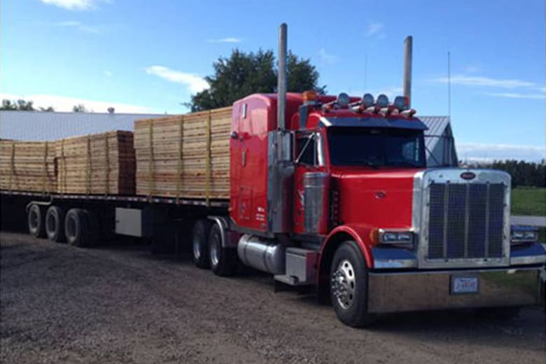 Little Guy provides trucking services across Alberta.