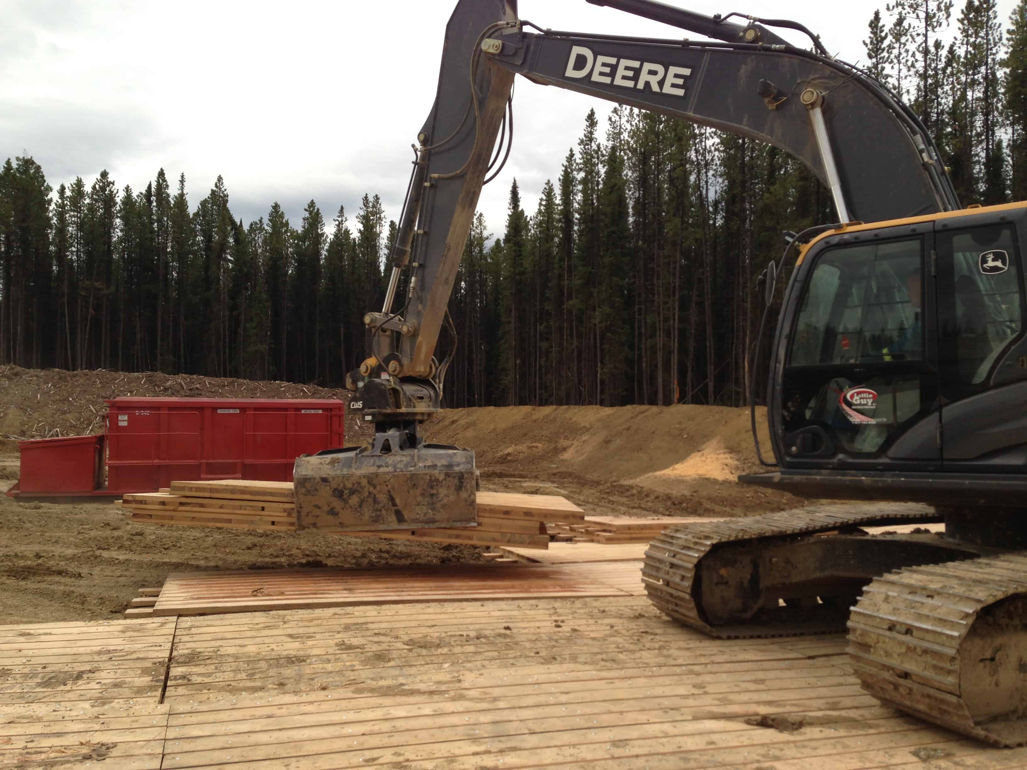 Access Matting Access Mats Northern Alberta Grand Prairie and Leduc Offices
